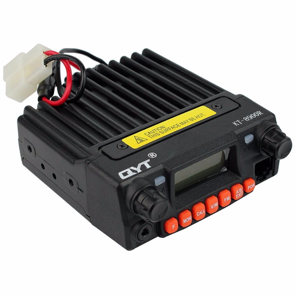 QYT KT 8900R Radio m  vil Tri banda Mini Base VHF/220 270 mhz (1,25 M) /transceptor UHF Amateur (HAM) potencia de transmisi  n de-in Walkie Talkie from Cellphones & Telecommunications    1
