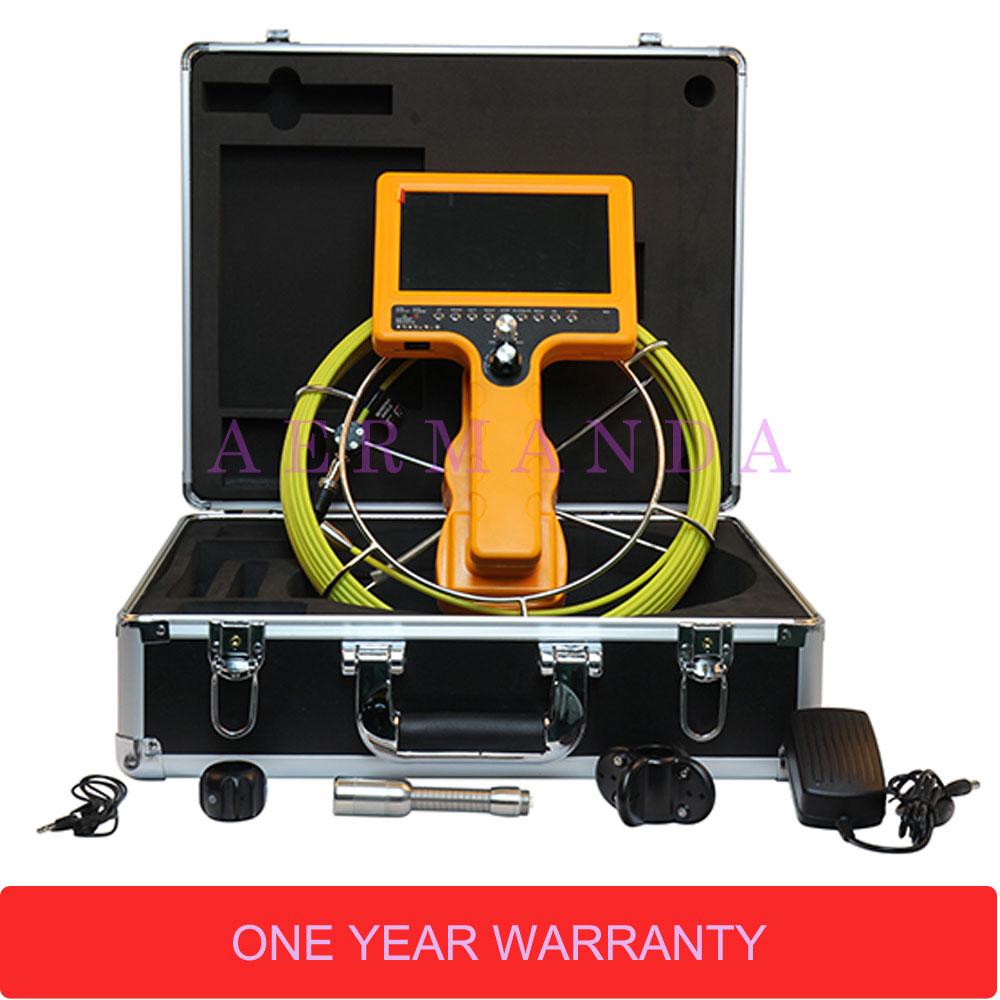 Caméra d'inspection de drain de tuyau Endoscope industriel 710D-SCJ équipement de ligne de processus de détecteur de plomberie