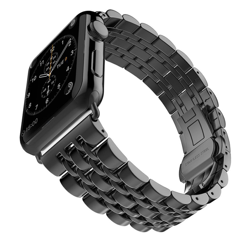Byzylyk Watchbands Steel Stainless Steel For IWatch Apple Watch Band - Aksesorë për orë - Foto 5