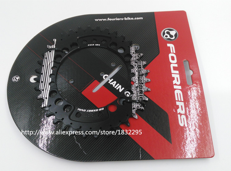 Bicycle sprockets CNC Bike Single Chain Ring 34T 36T Bicycle Chainrings P.C.D 104 Oval Shape Compatible For S h i m a n o 1pc fouriers cnc bike bicycle single chain ring 34t 36t chainrings p c d 104 for s h i m a n o oval shape narrow wide tooth