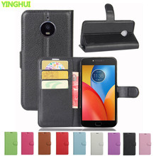 High Quality Luxury Leather Flip Case For Motorola Moto E4 Plus Smartphone Wallet Stand Cover With Card Holder For Moto E4 Plus