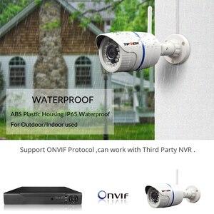 Image 3 - Câmera de vigilância residencial, hd 1080p ip externa wi fi residencial de vigilância 720p 3mp sem fio à prova dágua ip onvif câmera de camara