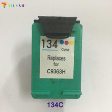 1PC Ink Cartridge For hp 134 for Deskjet 6940 5943 5940 6943 6983 6543 6843 7313 7413 8153 2713 printer hp134