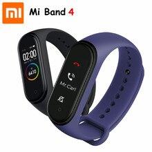 W magazynie Hot Xiaomi Mi Band 4 Smart AMOLED ColorScreen bransoletka tętno Fitness Bluetooth5.0 50MSwimming wodoodporna Mi Band 4