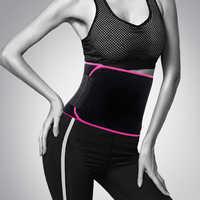 1 piezas ajustable cintura entrenador vientre recortador adelgazamiento sudor cinturón Fat Burn Shaper banda de pérdida de peso ejercicio Fitness equipo