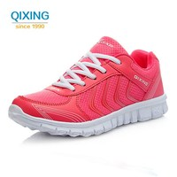 2017 Women S Sneakers Breathable Walking Sport Shoes Women Outdoor Running Shoes Female Lightweight Lace Up