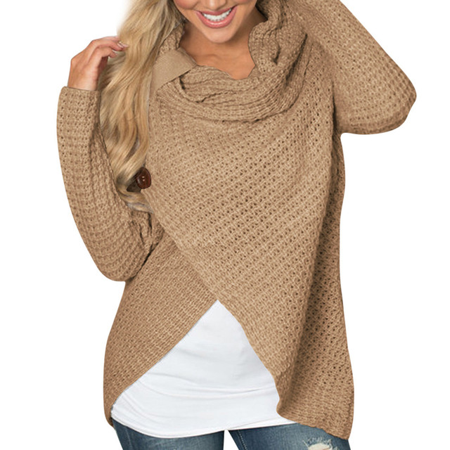 knitted Long Sleeve o neck Sweater
