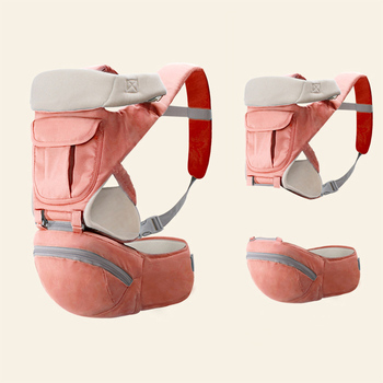 New Arrival Baby Sling Waist Stool Three In One Multi-Function Breathable Ventilation Waist Stool Baby Hip Seat lightweight breathable baby sling waist stool backpacks carries multiple back child stool scientific design to ease the load
