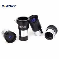 SVBONY 1.25 Plossl Eyepiece 4mm 10mm 25mm Multi Coated + Barlow Lens Astronomy Telescope Monocular Accessory Kit W2757