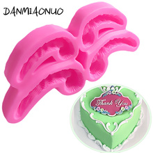 DANMIAONUO Silicone Mold lace Fondant Cake Tools Decorating Chocolate Baking Accessories Cake Mould Decoration Dessert A300897 цена и фото