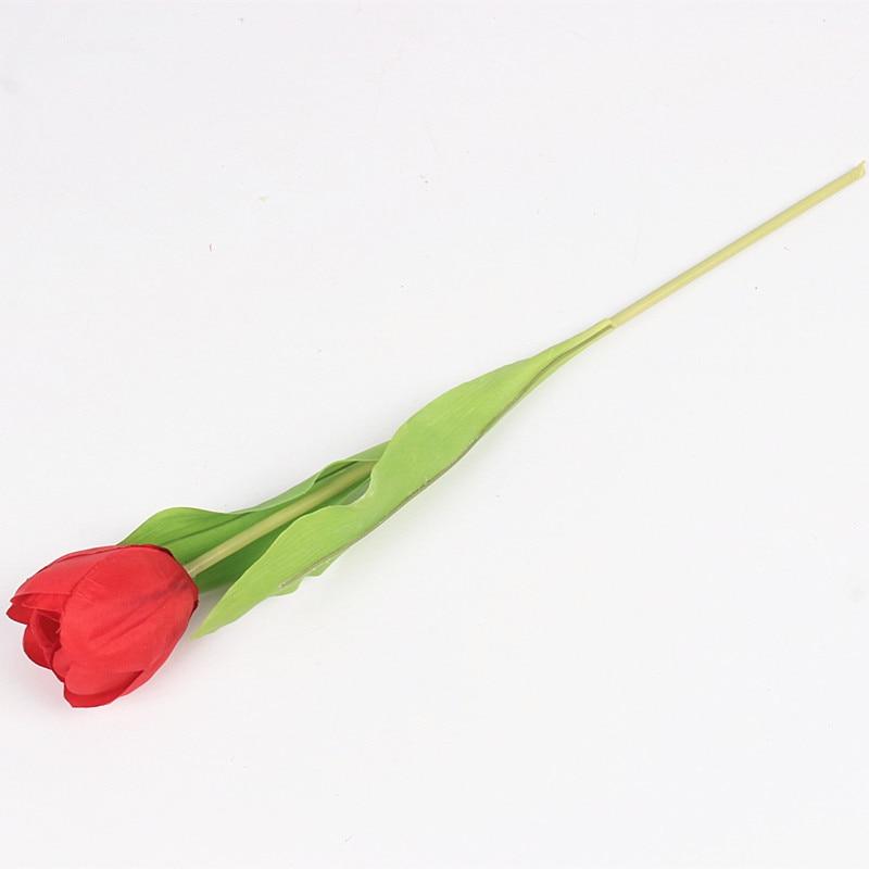JAROWN Dirbtinis Tulpė Gėlių Šilko Gėlės Fake spalvinga - Šventės ir vakarėliai - Nuotrauka 3