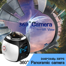 4K 360 degree camera kamera Wifi Mini Action Camera 2448*2448 Ultra HD Panorama Degree Sport Driving VR Camera