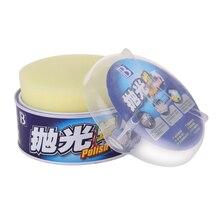 Pasta de cera para el cuidado de la pintura del coche, kit de productos reparador para arañazos