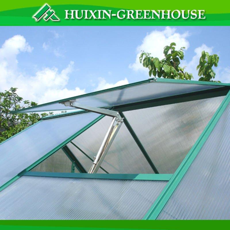 Алюминиевый Автоматический Открыватель окна для теплицы с питанием от солнечного тепла и температурным контролем с одной пружиной