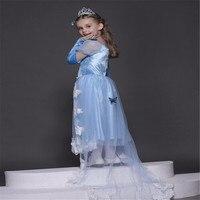 Brand Girl Dress Sleeping Beauty Aurora Princess For Kids Girls Party Dress Halloween Girls Cosplay Costume