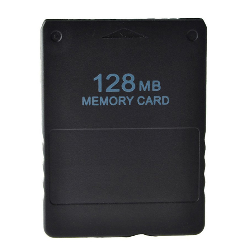 128MB Memory Card for Sony PlayStation 2 Save Game Data Stick Module For Sony PS2 Black for PS Playstation Memory Card
