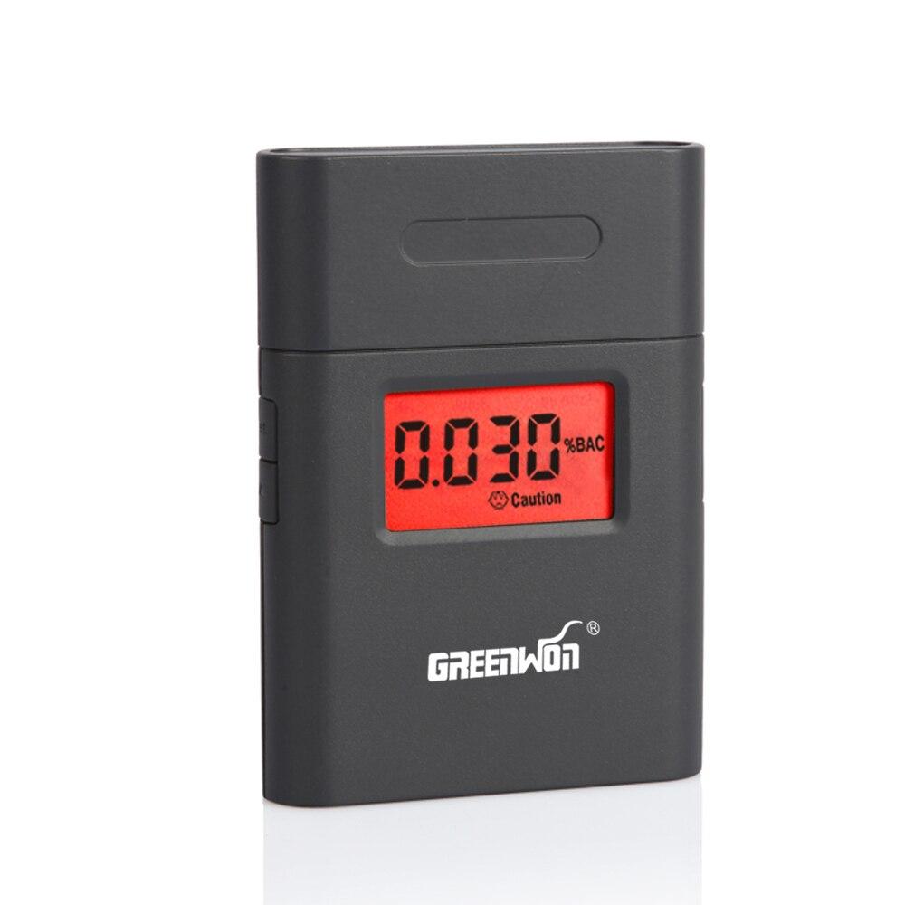 2017 NUOVO di vendita Caldo Professionale Breath Polizia Digital Alcohol Tester Etilometro AT838 Dropshipping di Spedizione libero