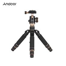 Andoer портативный мини настольный штатив с шаровой головкой БЫСТРОРАЗЪЕМНАЯ пластина для Canon DSLR камеры смартфона DV