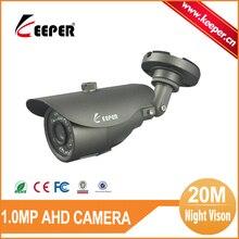 ENCARGADO de Seguridad y Protección A Prueba de agua 3.6 MM Lente Fija 720 P AHD Cámara 20 M Rango de Noche CCTV Seguridad Al Aire Libre cámara IR Cut