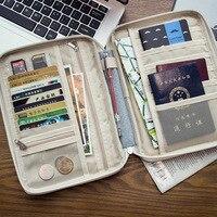 New Arrival Passport Cover Portable Travel Wallet Document Passport Holder Ticket Business Card Holder ID Waterproof
