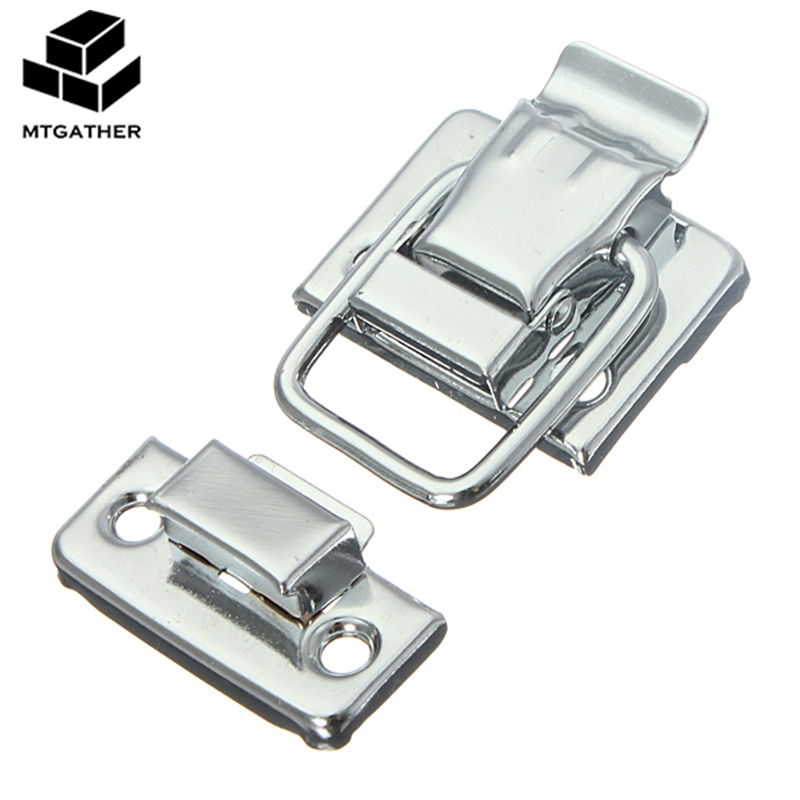 4x Jewelry Chest BoxSuitcaseCases Trunks Buckles Toggle Hasp Latch Clasp Lock P*
