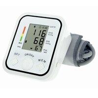 צגים לחץ דם זרוע העליונה הגעה חדשה אוטומטי דיגיטלי מד לחץ דם אלקטרוני tonometer צג קצב לב דופק