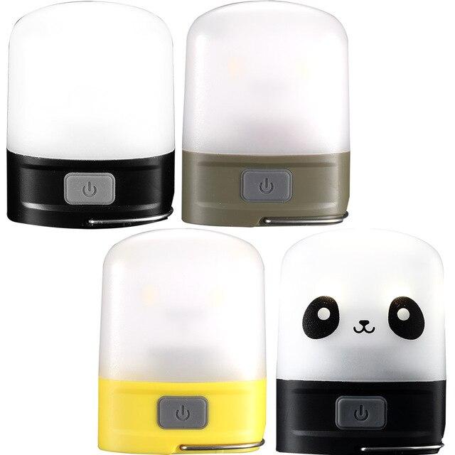 Tragbare Beleuchtung Nitecore Lr10/lr10panda Wiederaufladbare Tasche Camping Laterne Micro-usb-lade 250 Lumen Eingebaute 4.44wh Akku 6 Modi Scheinwerfer
