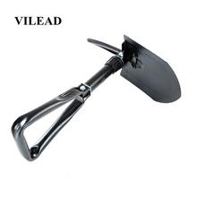 VILEAD Military Portable Folding Camping Shovels Emergency Garden Outdoor Multi Tools tools Durable Survival Bushcraft