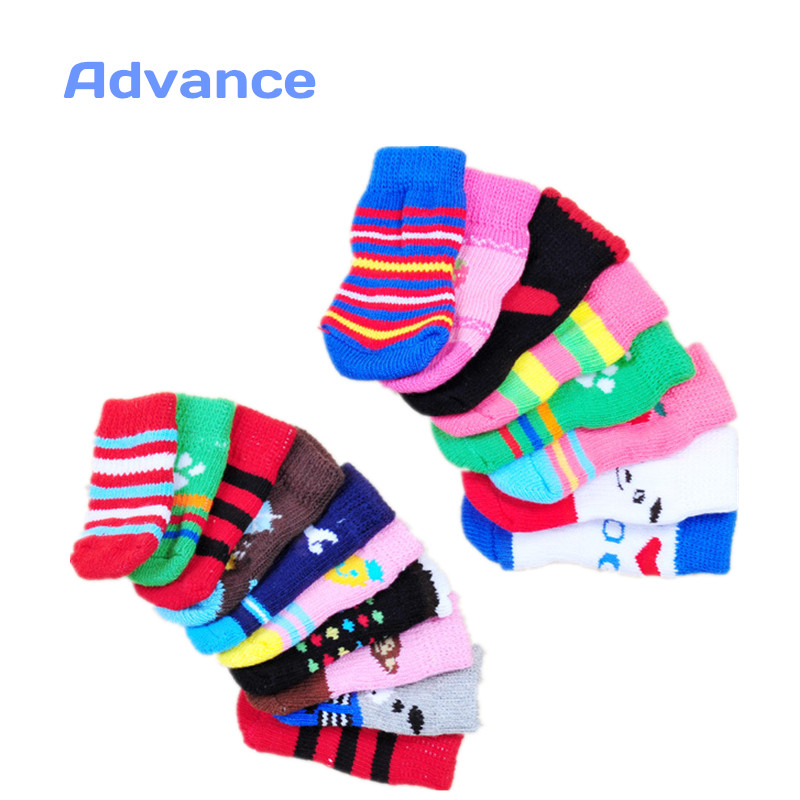 80 Style Shoes For Dogs Socks Clothes For Small Dogs Vans Shoes Breakbeat Christmas Socks Puppy Patrol Knitting Sneakers Page1