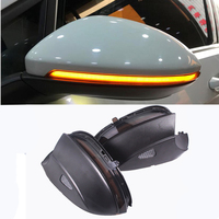 Blink Rear Side Mirror LED Water Flowing Rearview Mirror Turn Signal light For VW Passat B7 CC Jetta MK6 Beetle Scirocco