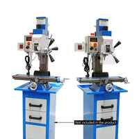 High-quality Mini Drilling Milling Machine For Metal Drilling Processing Small Gear Drive Drilling