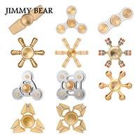 JIMMY BEAR 1 Pcs Spinner Fidget Toys Plastic EDC Hand Fidget Spinners For Autism And ADHD