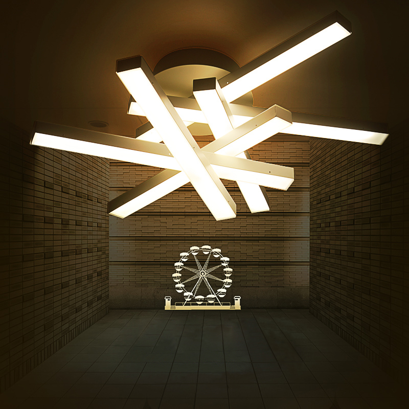 A1 personalized creative lighting Ceiling Lights modern minimalist bedroom study led dome shaped restaurant art balcony ZAFG109
