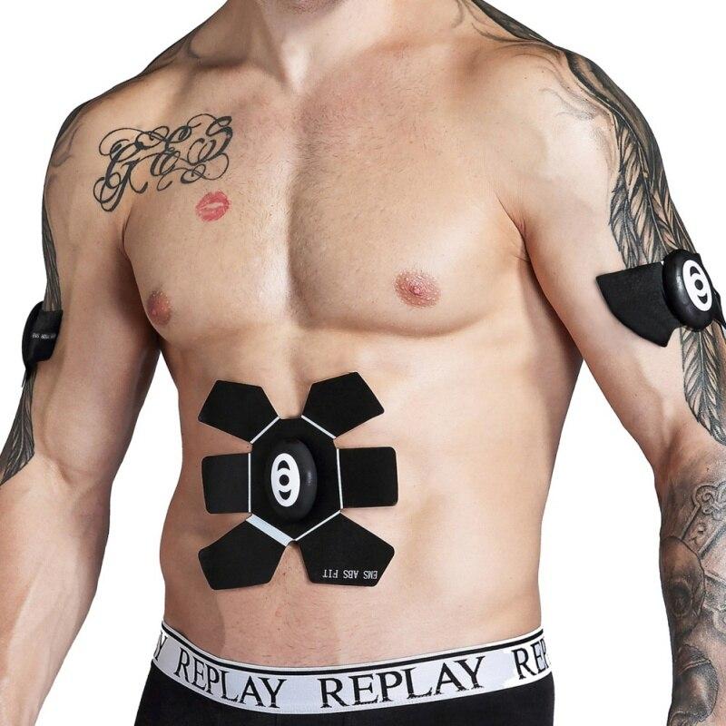 Sans fil intelligent du ventre mètre Formateur Batterie de Fitness À Domicile Abdomen Instrument Formateur Musculaire Abdominale Muscle Abdomen