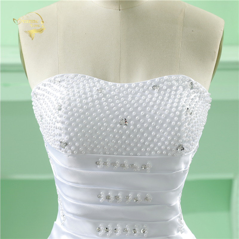 Partihandel Vestido De Noiva 2019 Klassisk Design Perfekt Casamento - Bröllopsklänningar - Foto 6