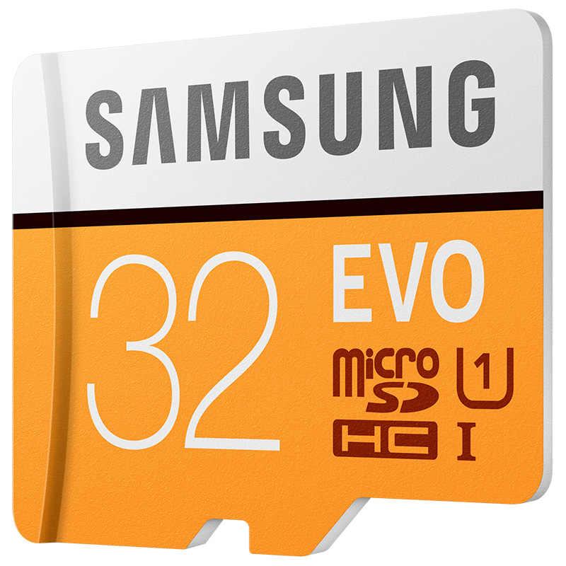 サムスン EVO micro sd 32 ギガバイトのメモリカードクラス 10 UHS-I micro sd kaart トランス Cartao Tarjeta TF カード Microsdhc tarjetas デメモリアラム