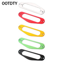 OOTDTY Metal Single Coil Neck Pickup Surround Mounting Ring for TL Tele Style Electric Guitar