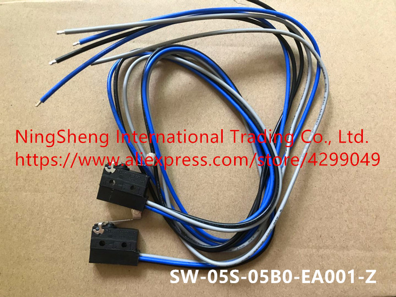 Original new 100% import micro switch waterproof switch SW-05S-05B0-EA001-Z strip line 5A 250VACOriginal new 100% import micro switch waterproof switch SW-05S-05B0-EA001-Z strip line 5A 250VAC