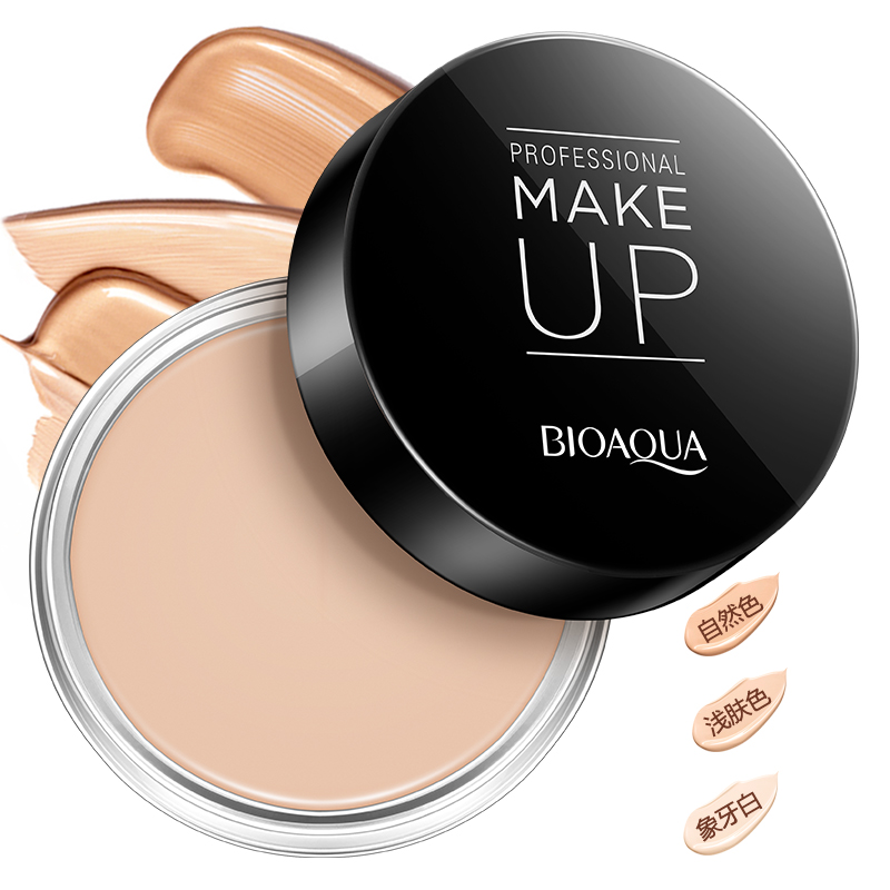Aliexpress Com Buy Cosmetics Brighten Concealer Shading Powder Foundation Pressed Powder Sun Block Natural Face Makeup From Reliable Makeup Eyebrow