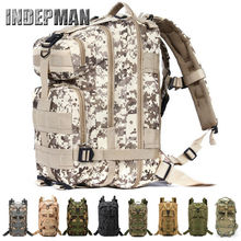 3P Tactical Backpack Military Oxford Sport Bag 30L for Camping Traveling Hiking Trekking Bags Outdoor Sports Bags 600D Nylon