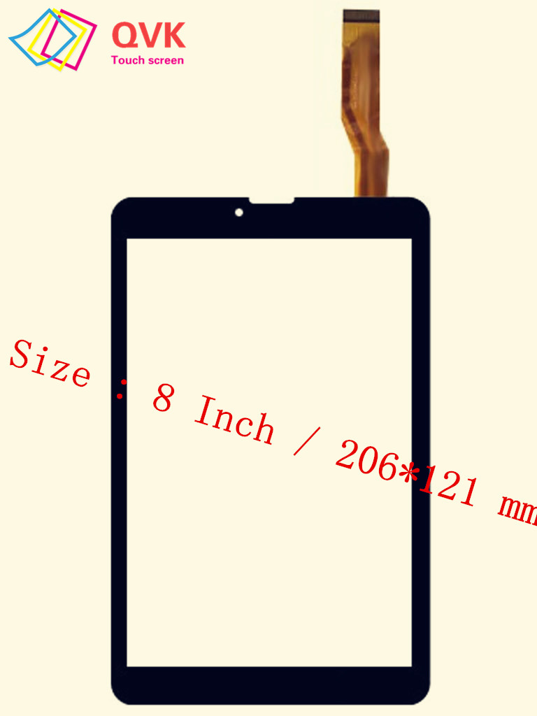 Black 8 Inch for IRBIS TZ881 TZ882 TZ891 4G Capacitive touch screen panel repair replacement spare parts free shipping 8 inch lcd display for irbis tz891 4g tz891w tz891b tablet screen panel replacement parts free shipping