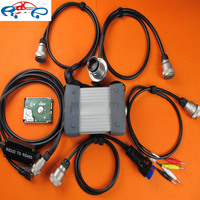 Mb Star C3 Multiplexer With 5 Cables With Software Hdd Harddisk Work For Mb Cars In