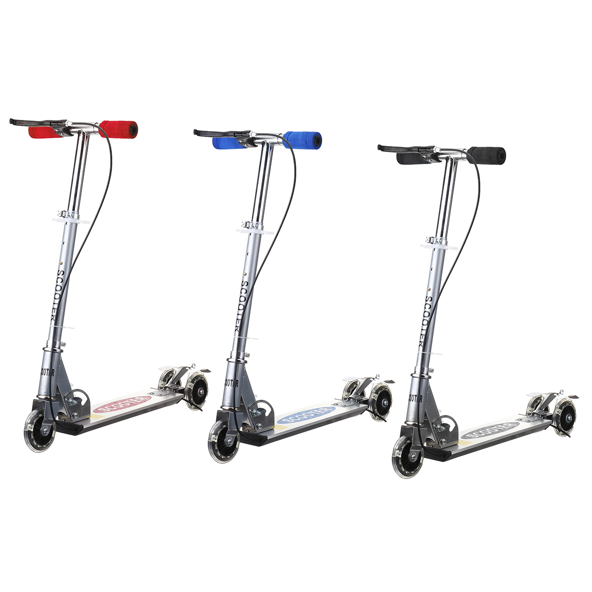 Height Adjustable Kick Scooter for Kids with 3 Wheels 8
