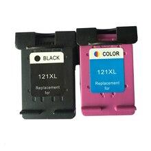 For HP 121 Cartridge For HP121 121XL Deskjet D1600 D1660 D2530 D2563 F2420 F2423 F2430 F2476 Photomaet C4610 C4635 C4640 C4650