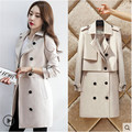 Fashion Jacket Coat Women 2 Piece set Short jacket + Vest High-grade Dust coat  Slim  Anti-wrinkle High quality fabrics BN1125