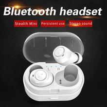 DW-Wogesup CP7 Mini Wireless Earphones Bluetooth Headset V5.0 TWS Stereo Binaural Calls Auriculares