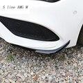 Автомобильный Стайлинг Задний Передний бампер спойлер воздушный нож Чехлы наклейки Накладка для Mercedes Benz CLA Class C117 Для AMG авто аксессуары