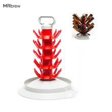 New Hot ! Homebrewing  45 Bottle Tree Drainer & Drying Rack For Beer & Wine Bottles Good quality