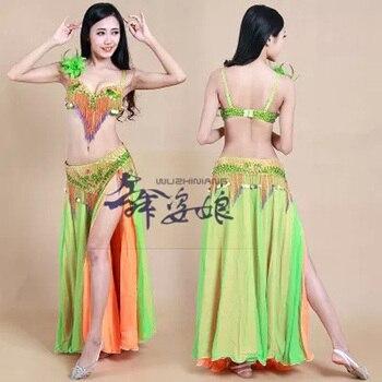 993413cd7 Sujetador de danza del vientre estilo Tribal para mujer traje de danza del  vientre para mujer