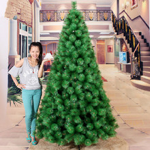 Christmas tree factory outlets 2.1 m / 210CM high-end dress pine needles